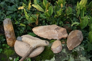 Steinzeitgegenstände